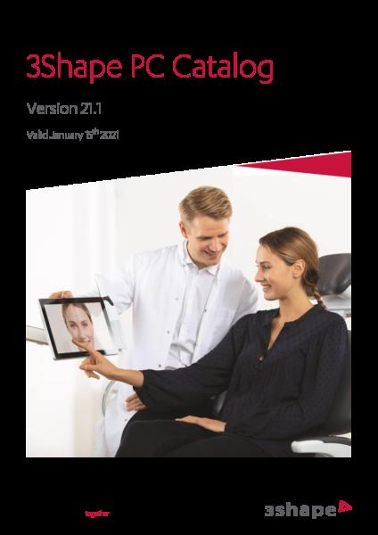 3Shape PC Catalog 21.1