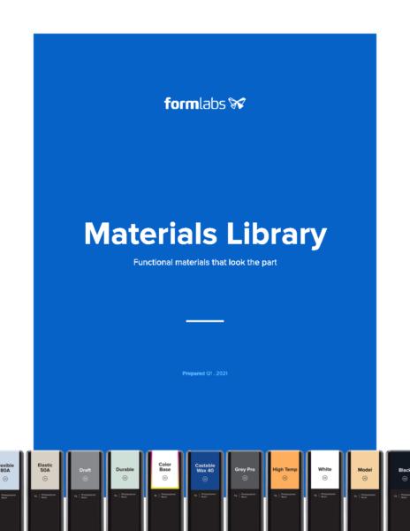 Formlabs Materials Library