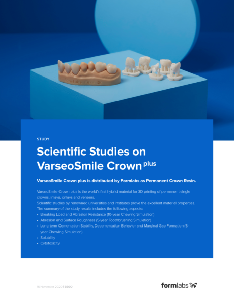 Scientific Studies on VarseoSmile Crown