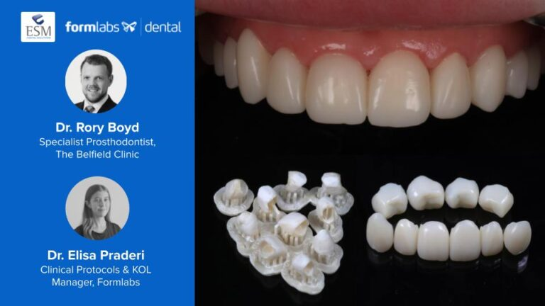 3D Printing Provisional Restorations with Dr Rory Boyd and Formlabs, May 20th 5PM